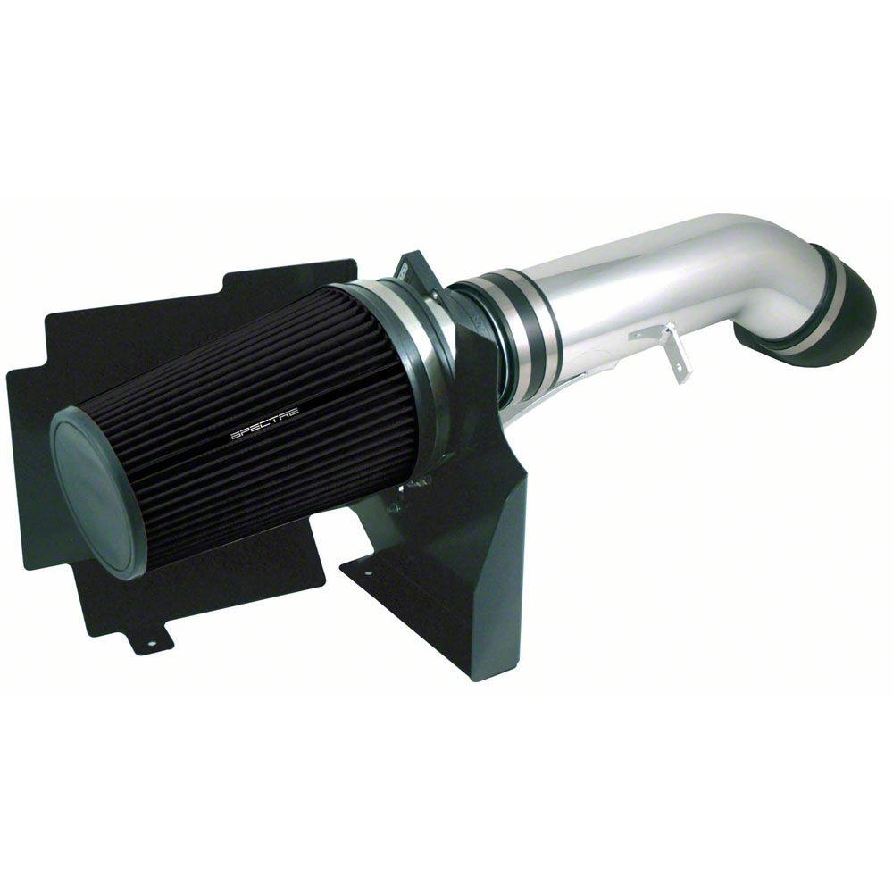 Spectre Performance Cold Air Intake w/ Black Filter - Polished (04-06 6.0L Silverado 1500)
