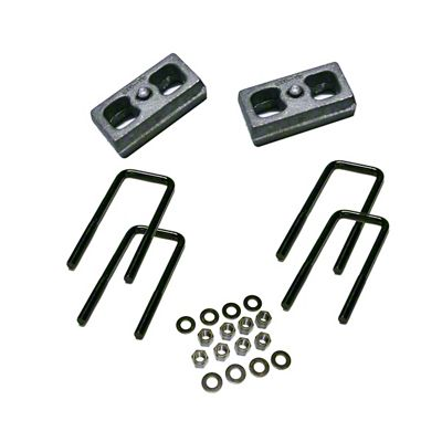 SuperLift 2.5 in. Rear Lift Block Kit (99-10 4WD Silverado 1500)