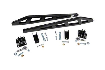 Rough Country Traction Bar Kit for 0-7.5 in. Lift (07-18 4WD Silverado 1500)