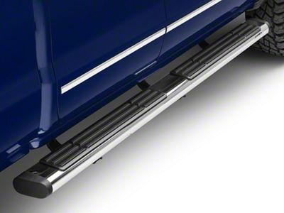 Go Rhino 6 in. OE Xtreme Side Step Bars - Stainless Steel (14-18 Silverado 1500 Double Cab)