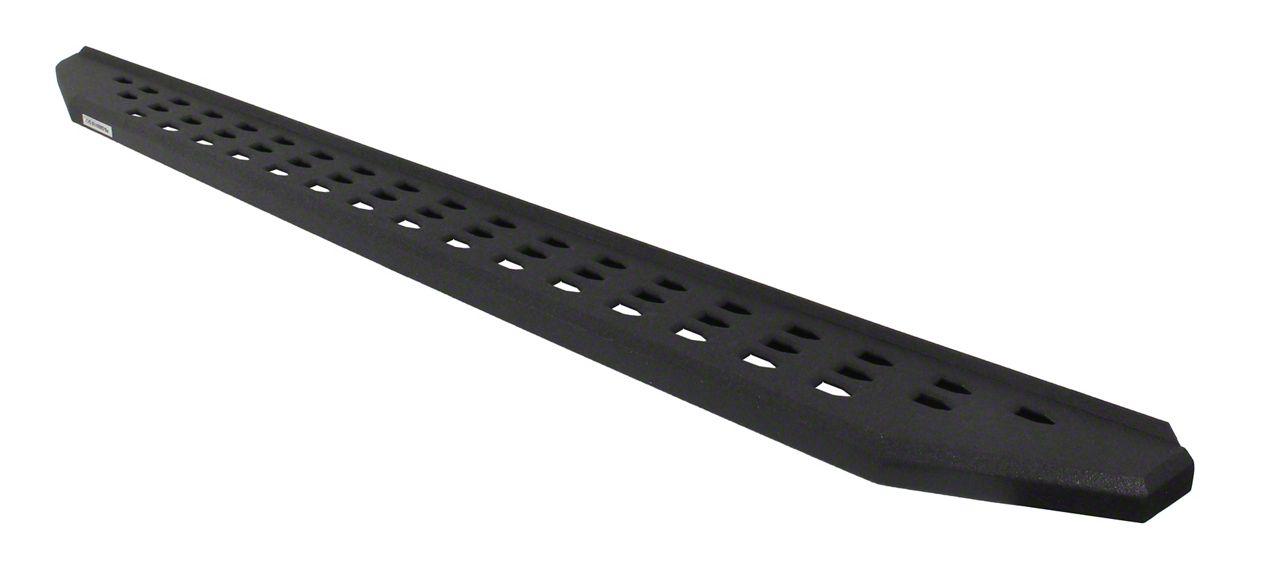 Go Rhino RB20 Running Boards - Black Bedliner Coating (14-18 Silverado 1500 Double Cab)