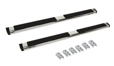 Go Rhino 6 in. OE Xtreme Side Step Bars - Stainless Steel (07-13 Silverado 1500 Extended Cab)