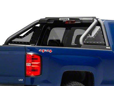 Go Rhino Sport Bar 2.0 Roll Bar - Textured Black (14-18 Silverado 1500)