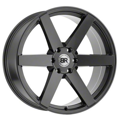Black Rhino Karoo Dark Tint Matte Black Machined 6-Lug Wheel - 20x9.5 (99-18 Silverado 1500)