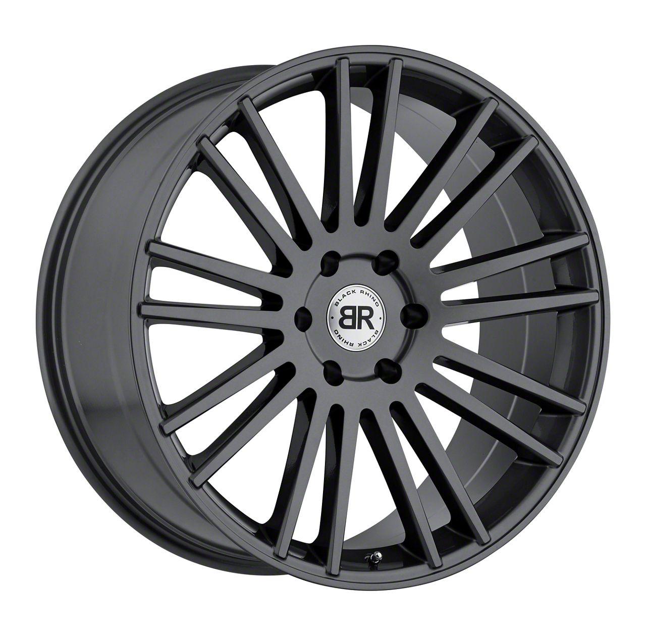 Black Rhino Karoo Gloss Gunmetal 6-Lug Wheel - 24x10 (99-19 Silverado 1500)