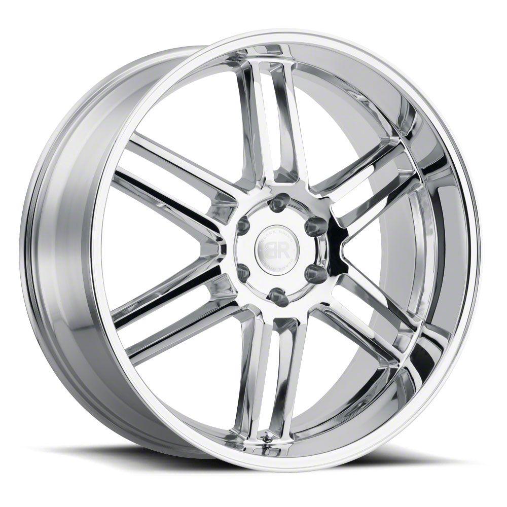Black Rhino Katavi Chrome 6-Lug Wheel - 24x10 (99-19 Silverado 1500)
