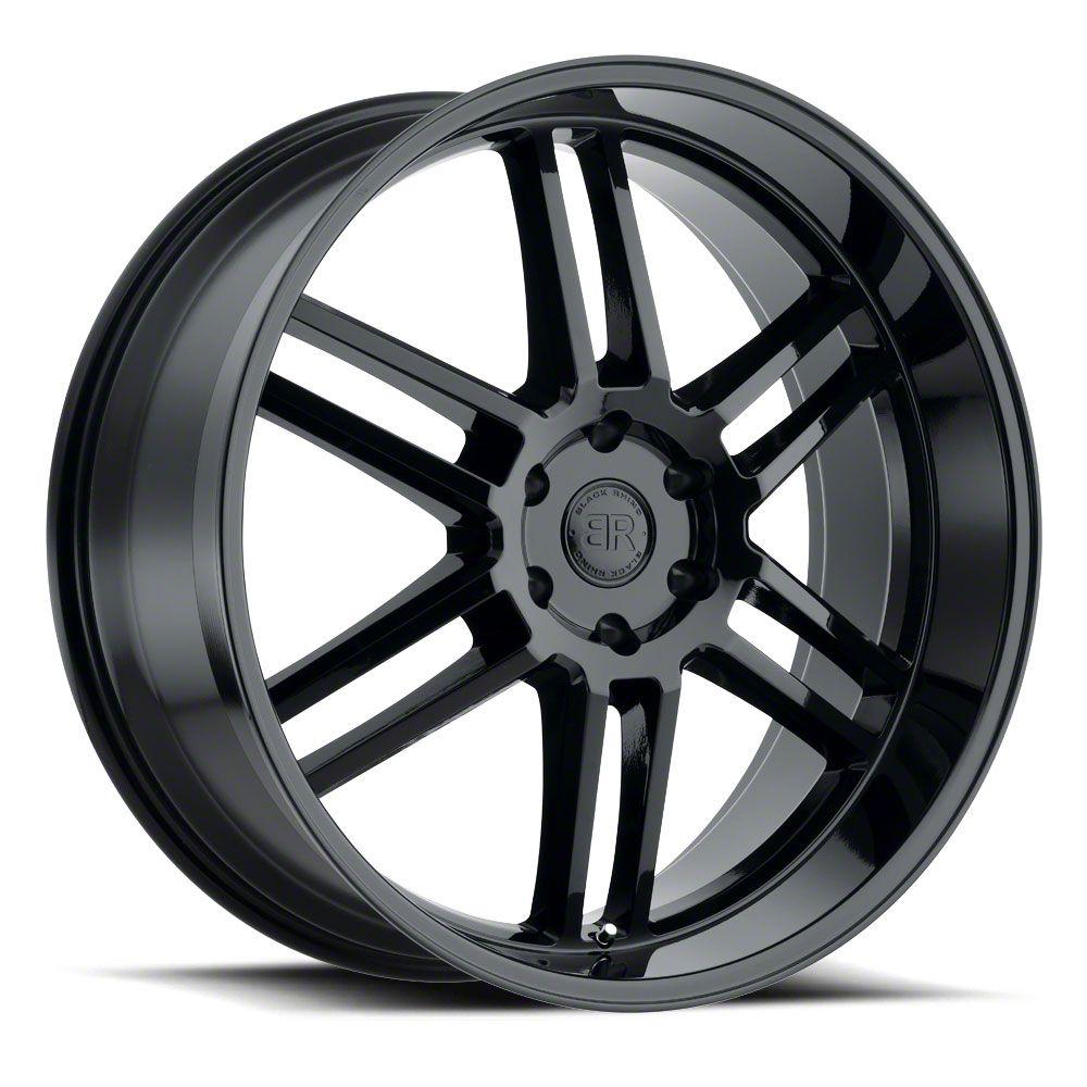 Black Rhino Katavi Gloss Black 6-Lug Wheel - 24x10 (99-19 Silverado 1500)