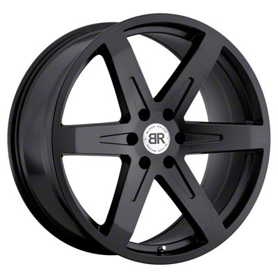 Black Rhino Peak Matte Black 6-Lug Wheel - 22x9.5 (99-18 Silverado 1500)