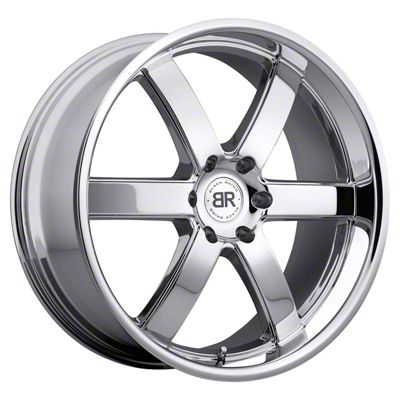 Black Rhino Pondora Chrome 6-Lug Wheel - 24x10 (99-18 Silverado 1500)