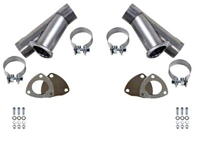 GMS Manual Exhaust Cutout - 3 in. - Pair (99-19 Silverado 1500)
