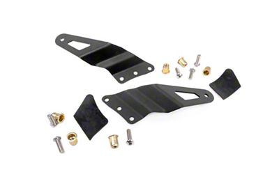Rough Country 54 in. Curved LED Light Bar Upper Windshield Mounting Brackets (99-06 Silverado 1500)