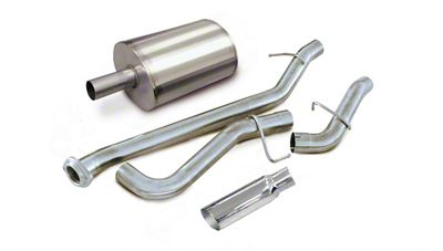 dB Performance by Corsa 3 in. Sport Single Exhaust System w/ Polished Tip - Side Exit (99-06 5.3L Silverado 1500)