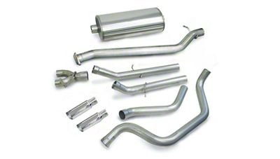 dB Performance by Corsa 3 in. Sport Single Exhaust System w/ Polished Tips - Rear Exit (99-06 5.3L Silverado 1500)