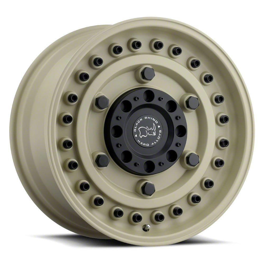 Black Rhino Armory Desert Sand 6-Lug Wheel - 17x9.5 (99-19 Silverado 1500)