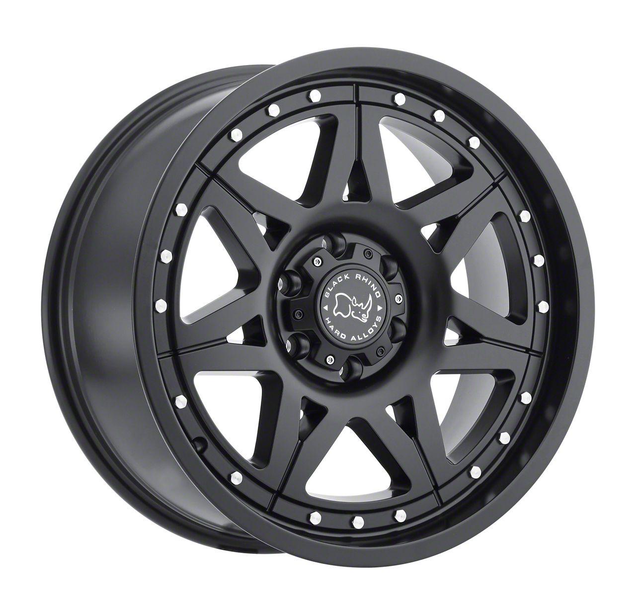 Black Rhino Hammer Matte Black 6-Lug Wheel - 18x9 (99-19 Silverado 1500)