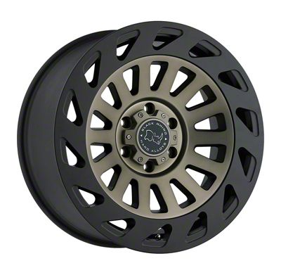 Black Rhino Madness Dark Tint Machined Face 6-Lug Wheel - 18x9 (99-18 Silverado 1500)