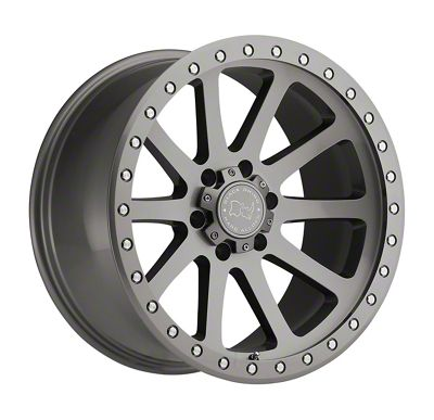 Black Rhino Mint Gloss Graphite 6-Lug Wheel - 17x9 (99-18 Silverado 1500)