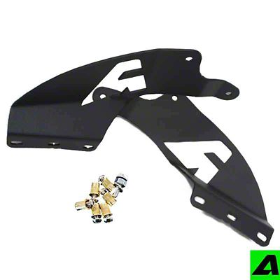 APOC 52 in. Curved LED Light Bar Double Stack Roof Mounting Brackets (99-06 Silverado 1500)