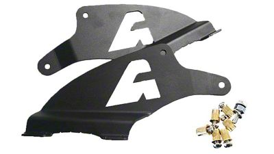 APOC 52 in. Curved LED Light Bar Double Stack Roof Mounting Brackets (14-18 Silverado 1500)
