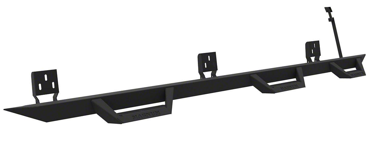 ICI Magnum RT Wheel to Wheel Side Step Bars - Black (14-18 Silverado 1500 Double Cab)