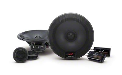 Alpine R-Series 6-1/2 in. Component 2-Way Speaker System - 100W (07-13 Silverado 1500)