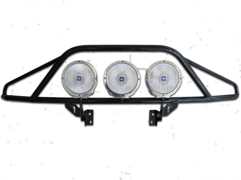 N-Fab PreRunner Light Mount Bar - Gloss Black (14-15 Silverado 1500)