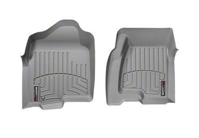 Weathertech DigitalFit Front Floor Liners - Gray (99-06 Silverado 1500 Extended Cab)