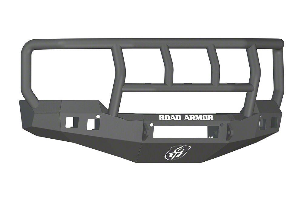 Road Armor Stealth Non-Winch Front Bumper w/ Titan II Guard - Satin Black (16-18 Silverado 1500)