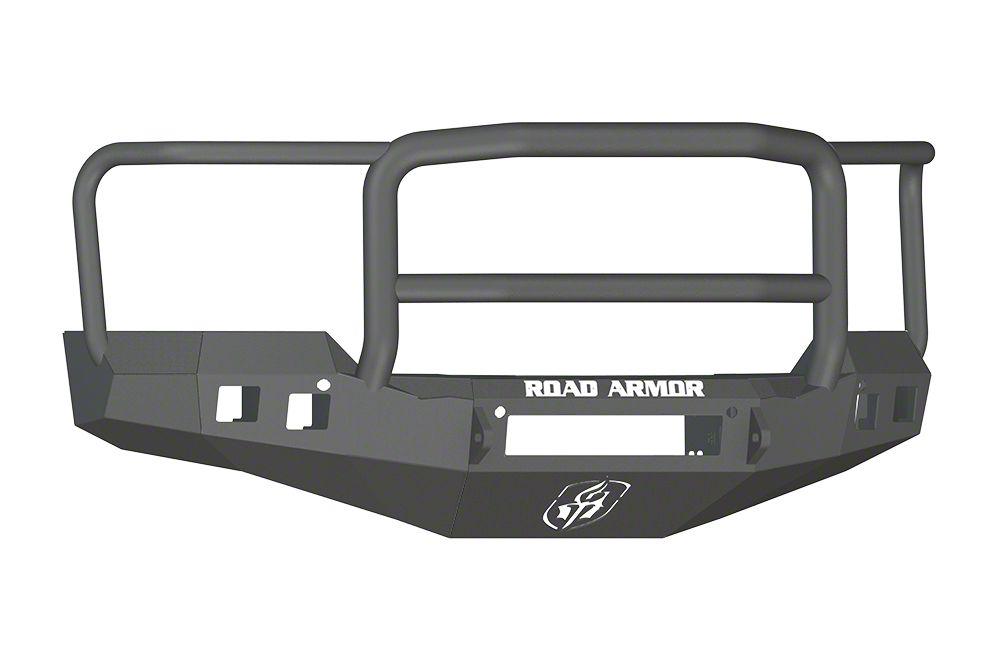 Road Armor Stealth Non-Winch Front Bumper w/ Lonestar Guard - Satin Black (16-18 Silverado 1500)