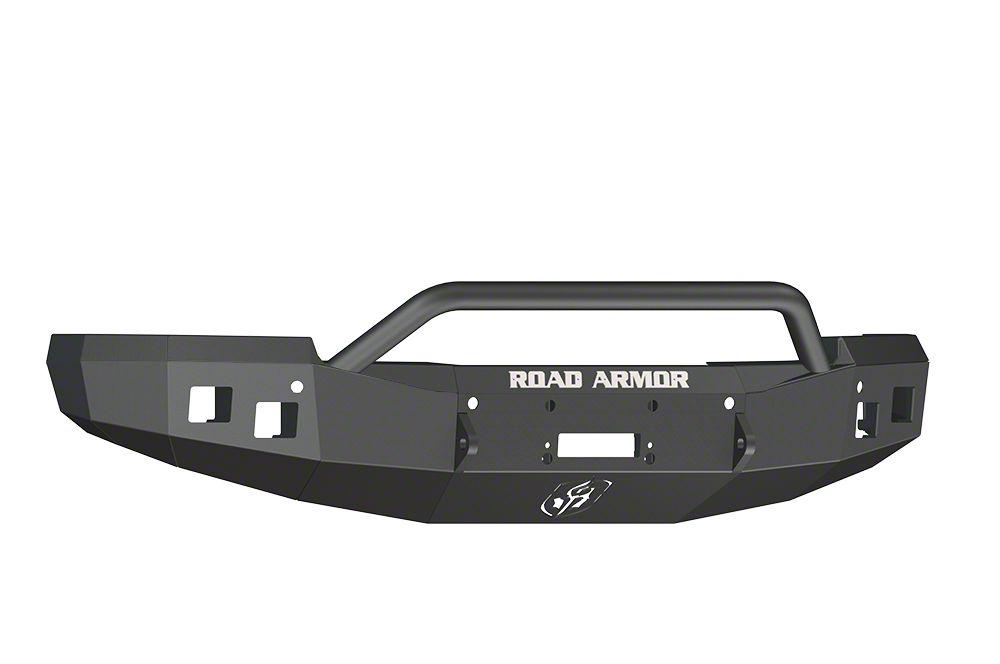 Road Armor Stealth Winch Front Bumper w/ Pre-Runner Guard - Satin Black (14-15 Silverado 1500)