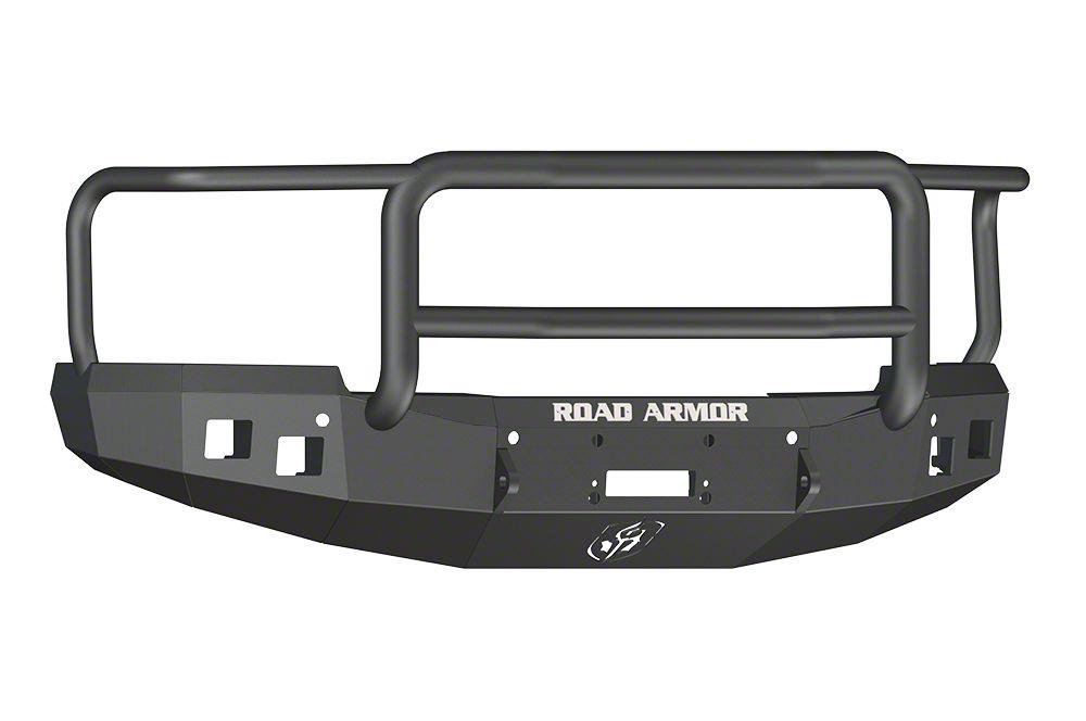 Road Armor Stealth Winch Front Bumper w/ Lonestar Guard - Satin Black (14-15 Silverado 1500)