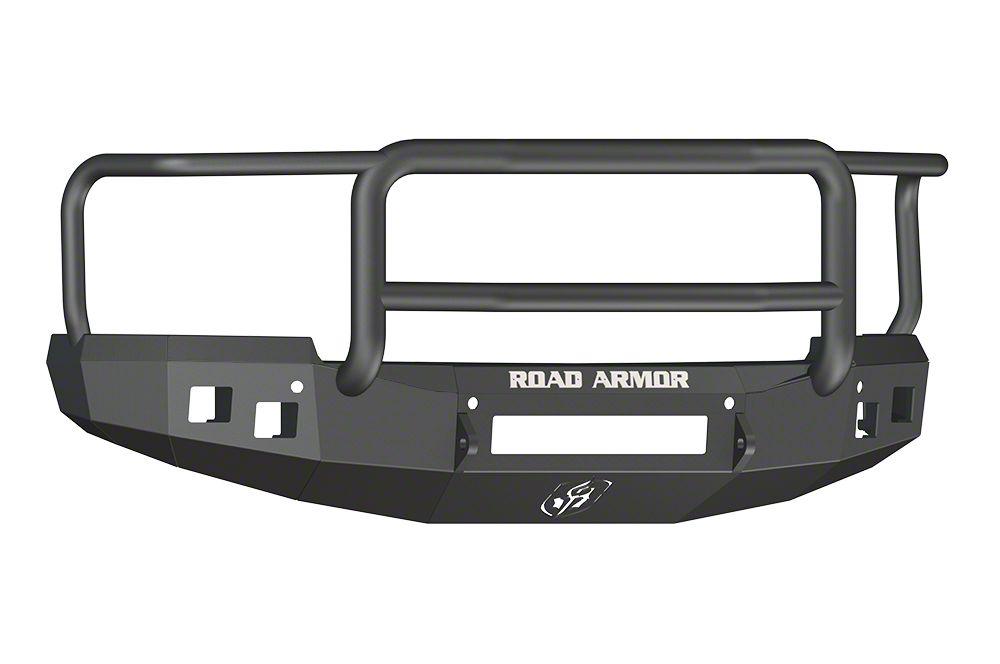 Road Armor Stealth Non-Winch Front Bumper w/ Lonestar Guard - Satin Black (14-15 Silverado 1500)