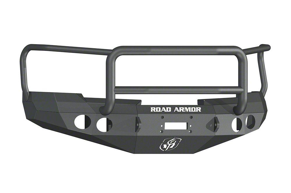 Road Armor Stealth Winch Front Bumper w/ Lonestar Guard - Satin Black (07-13 Silverado 1500)