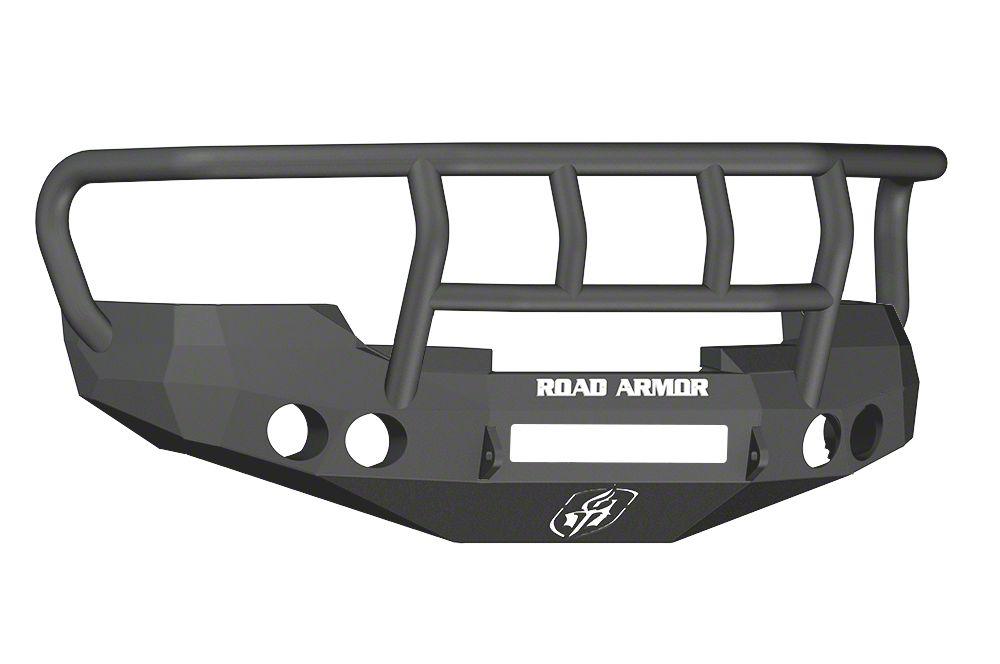 Road Armor Stealth Non-Winch Front Bumper w/ Titan II Guard - Satin Black (07-13 Silverado 1500)