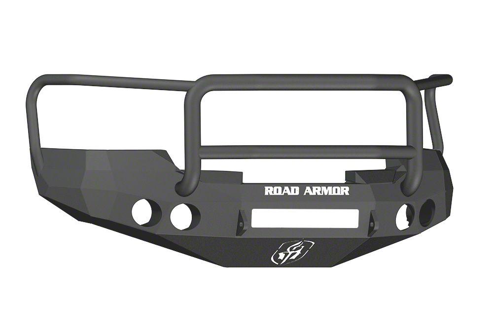 Road Armor Stealth Non-Winch Front Bumper w/ Lonestar Guard - Satin Black (07-13 Silverado 1500)