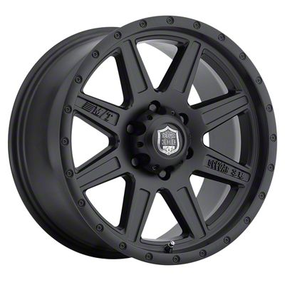 Mickey Thompson Deegan 38 Pro 2 Black 6-Lug Wheel - 17x9 (99-18 Silverado 1500)