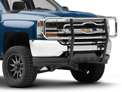 Luverne 2 in. Tubular Grille Guard - Chrome (14-18 Silverado 1500)