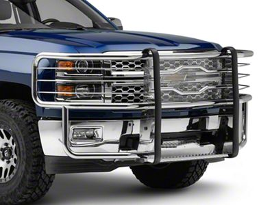 Luverne Prowler Max Grille Guard - Polished Stainless (14-15 Silverado 1500)
