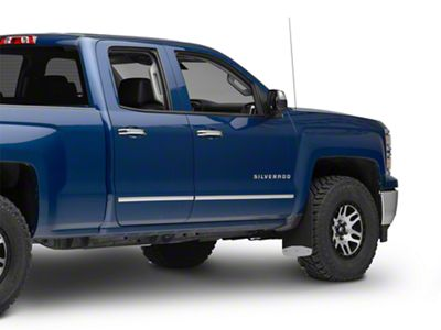 Luverne Textured Rubber Front or Rear Mud Guards - 12 in. x 20 in. (14-18 Silverado 1500)