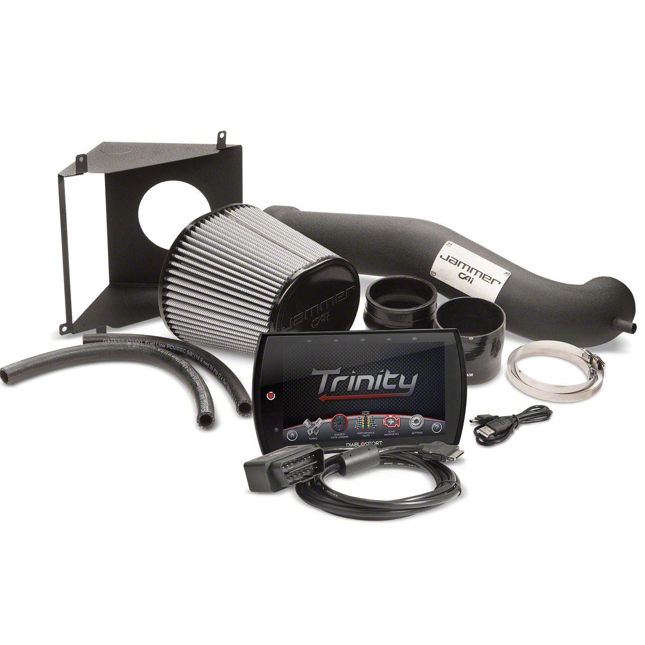 Diablosport Reaper Jammer Cold Air Intake & Trinity 2 Tuner Combo Kit - Stage 1 (09-13 5.3L Silverado 1500)