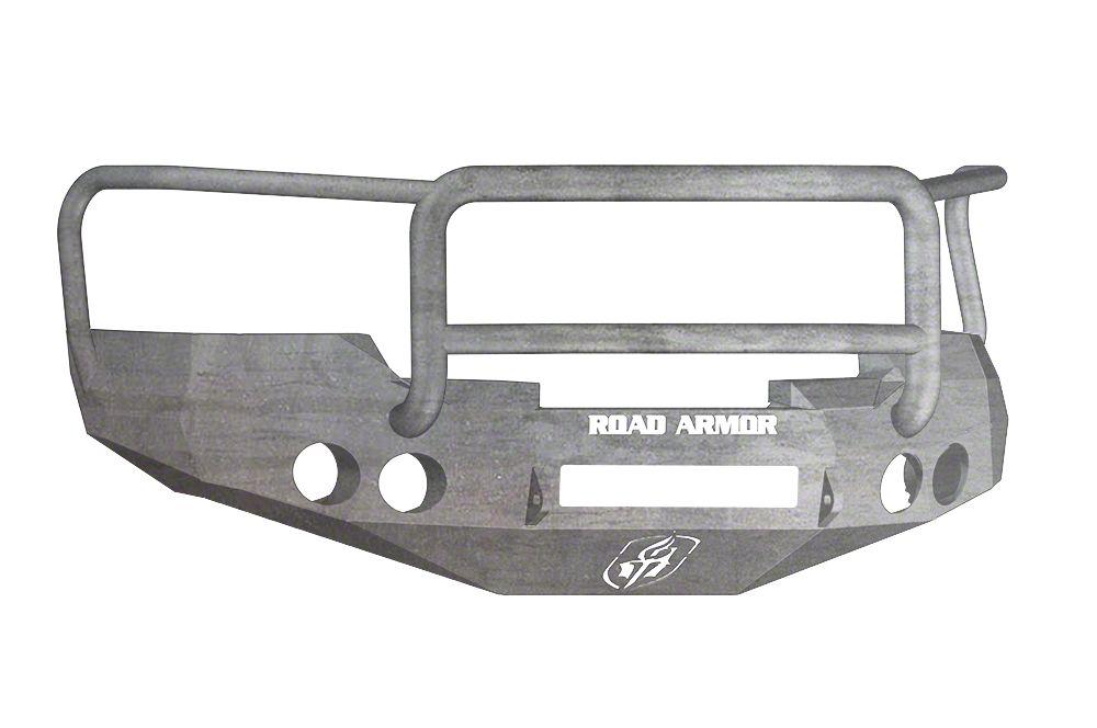 Road Armor Stealth Non-Winch Front Bumper w/ Lonestar Guard - Raw (07-13 Silverado 1500)