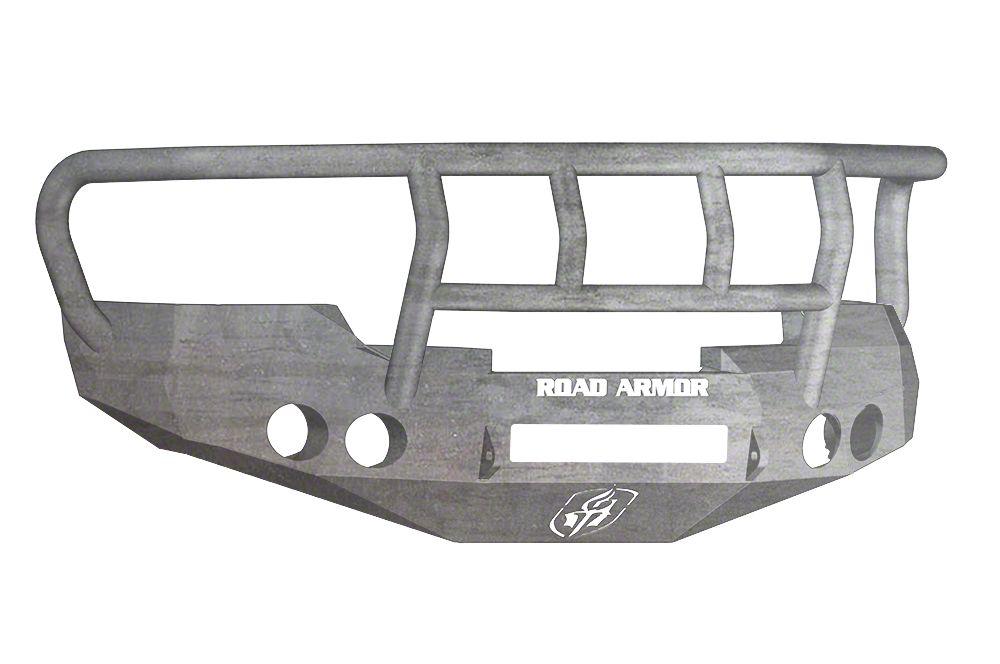 Road Armor Stealth Non-Winch Front Bumper w/ Titan II Guard - Raw (07-13 Silverado 1500)