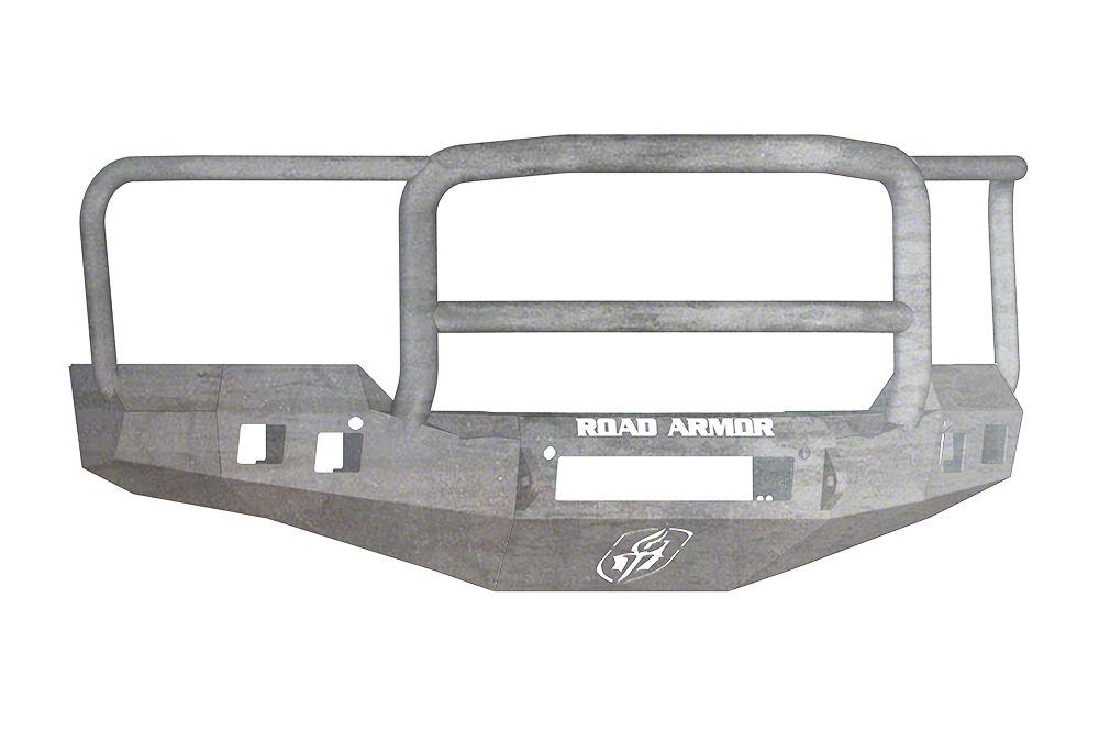 Road Armor Stealth Non-Winch Front Bumper w/ Lonestar Guard - Raw (16-18 Silverado 1500)