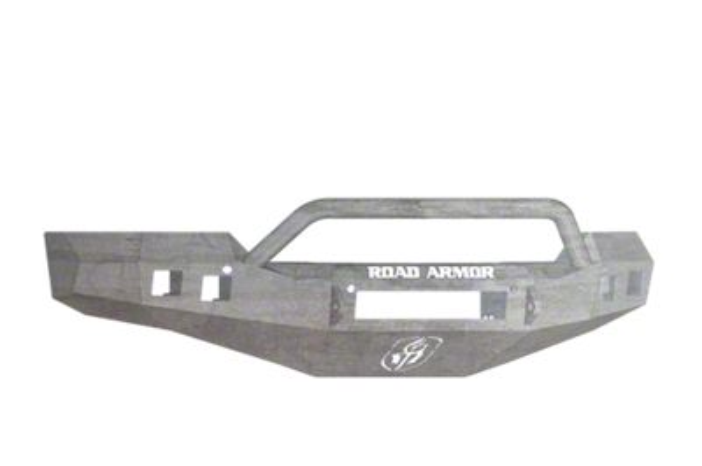 Road Armor Stealth Non-Winch Front Bumper w/ Pre-Runner Guard - Raw (16-18 Silverado 1500)