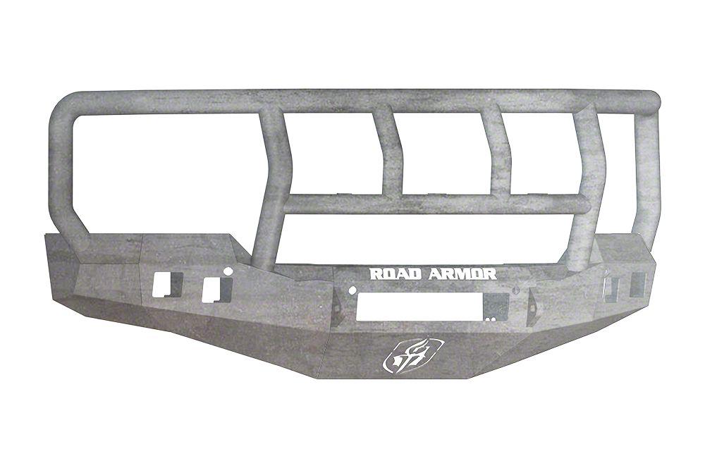 Road Armor Stealth Non-Winch Front Bumper w/ Titan II Guard - Raw (16-18 Silverado 1500)
