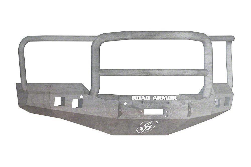 Road Armor Stealth Winch Front Bumper w/ Lonestar Guard - Raw (16-18 Silverado 1500)