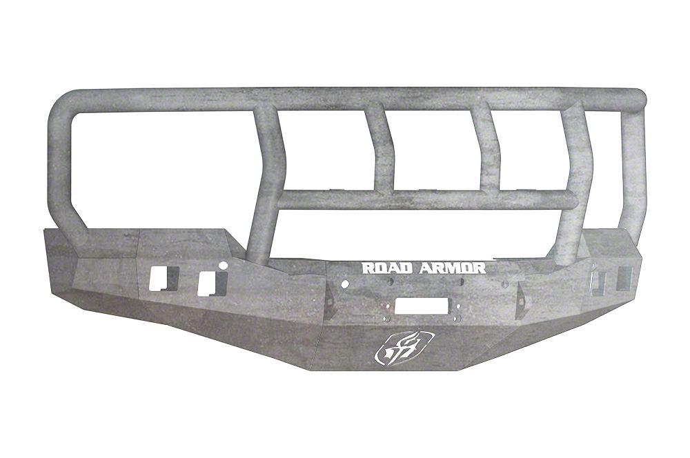 Road Armor Stealth Winch Front Bumper w/ Titan II Guard - Raw (16-18 Silverado 1500)