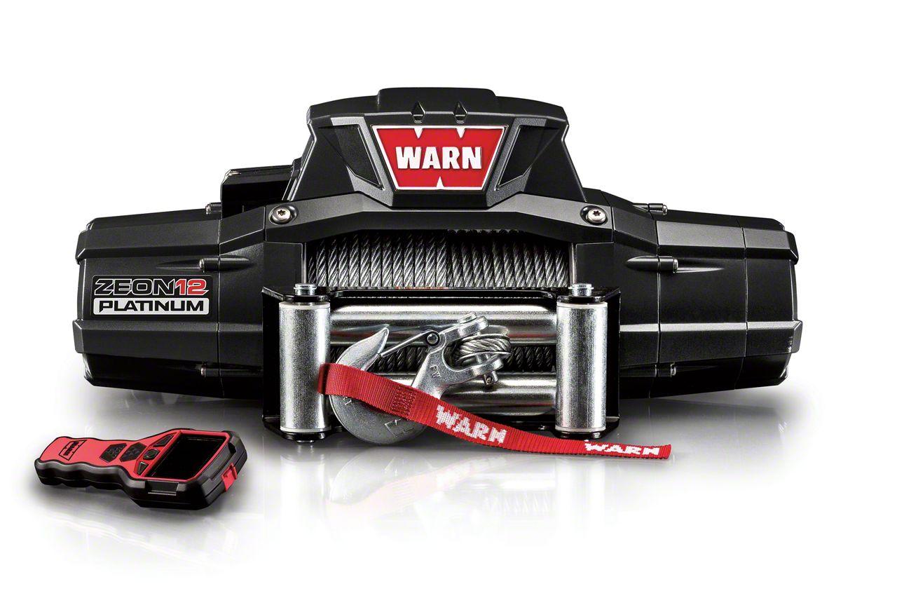 WARN ZEON 12 Platinum 12,000 lb. Winch