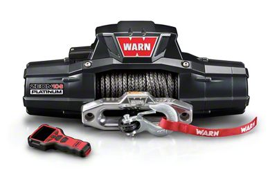 WARN ZEON 10-S Platinum 10,000 lb. Winch w/ Synthetic Rope