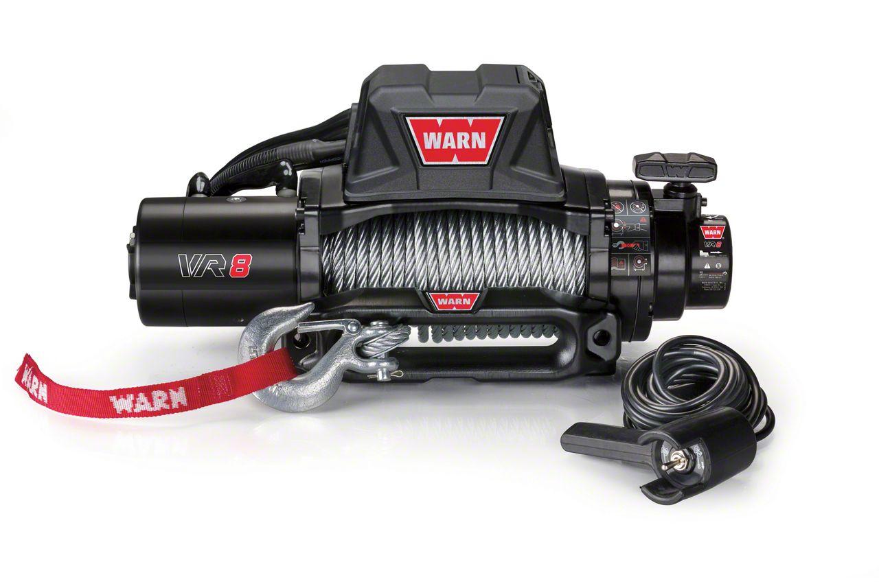 WARN VR8 8,000 lb. Winch